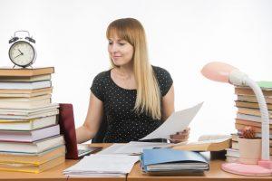Tempo per scrivere la tesi magistrale
